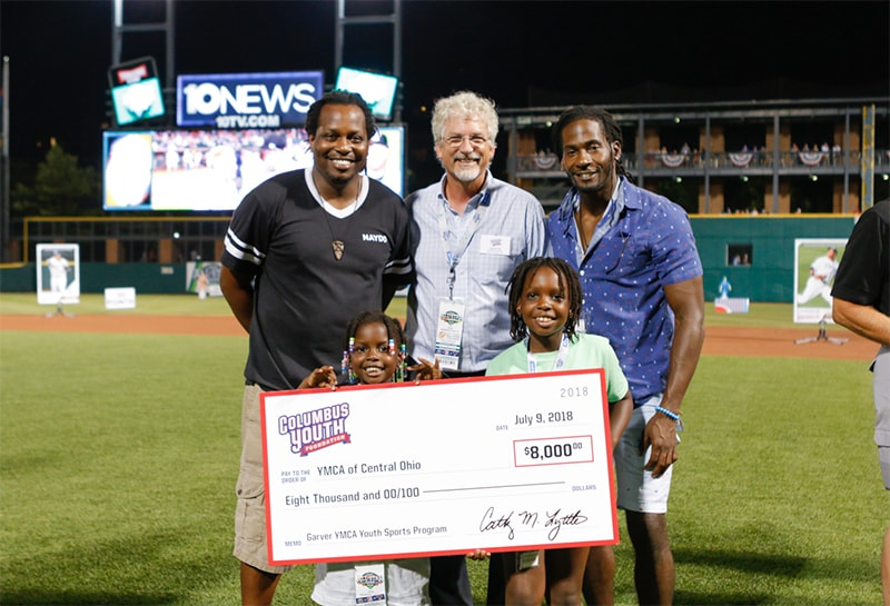 Columbus Youth Foundation Steps Up to the Plate for Central