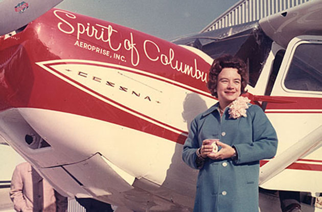 More than 50 years ago, Jerrie Mock became the first woman to fly around the globe solo.
